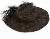 Isabel Benenato woven hat - women - Straw - S