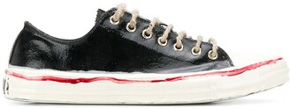 Marni Painted Low-Top Sneakers