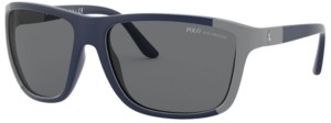 Polo Ralph Lauren Polarized Sunglasses, PH4155 62