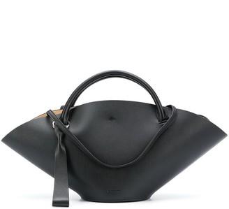Jil Sander Keyring-Detail Tote Bag