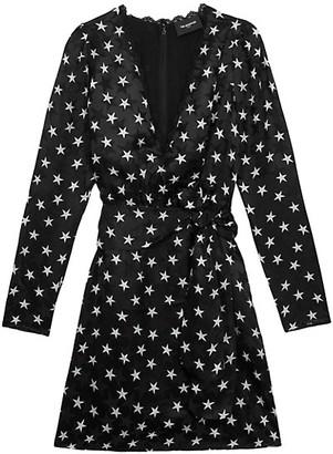 The Kooples Star Print Mini Dress