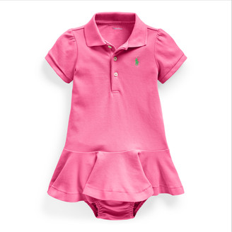 Ralph Lauren Pique Polo Dress & Bloomer