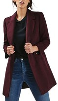 Topshop Women's 'Meg' Zip Pocket Coat
