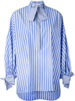 Ermanno Scervino striped blouse - women - Cotton - 38