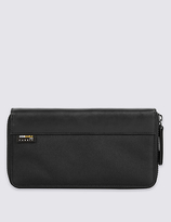 M&S Collection Cordura® Double Travel Wallet with CardsafeTM