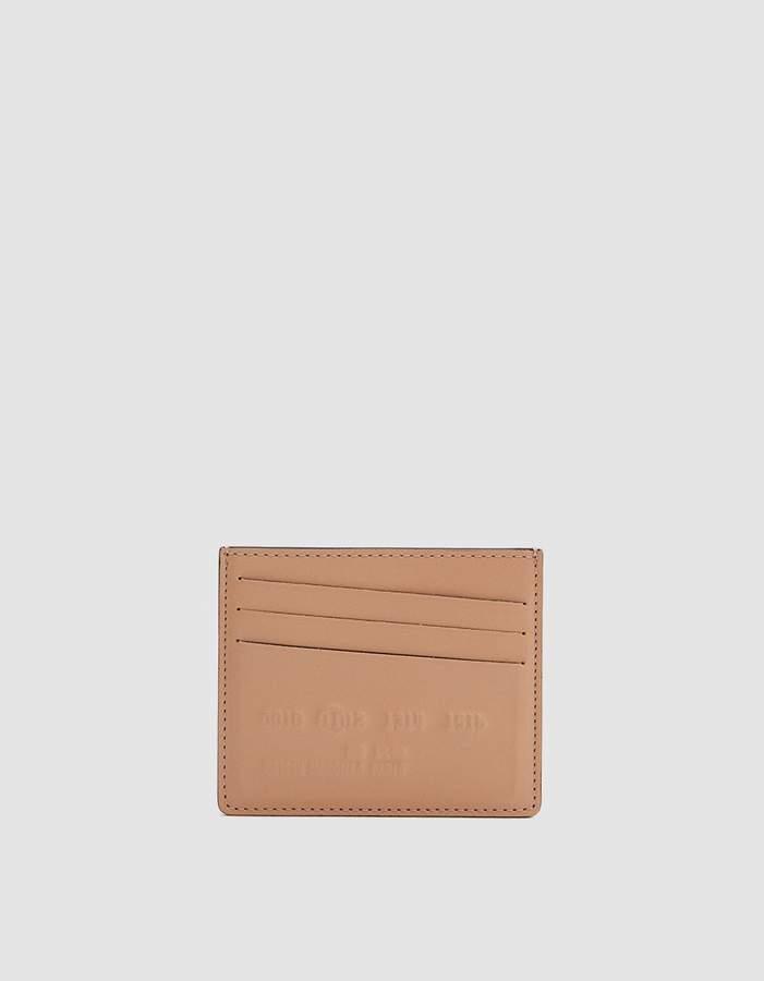 Maison Margiela Plain Leather Cardholder