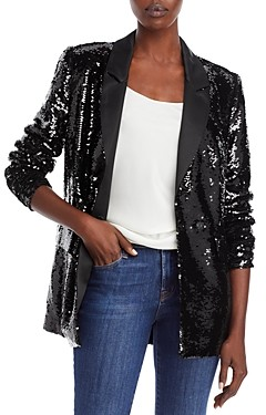 Anine Bing Ace Sequined Blazer