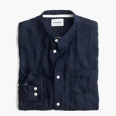 Norse Projects Norse ProjectsTM Benno double-faced indigo band-collar shirt