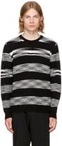Missoni Black and White Crewneck Sweater