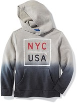 Old Navy Fleece Dip-Dye Hoodie for Boys