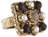 Chanel Enamel Gripoix Ring