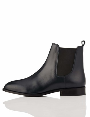 find. Leather Chelsea Boots Brown Chocolate) 8 UK