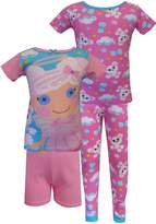 AME Sleepwear Lalaloopsy Cloud E. Sky & Puffy Poodle 4 Piece PJ Set for girls