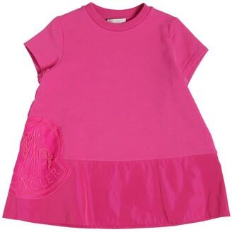 Moncler Cotton Sweatshirt Dress
