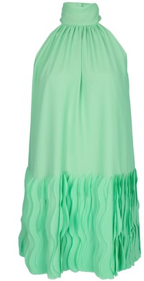 Catherine Regehr Wave Hem T-Neck Wave Hem Short Dress