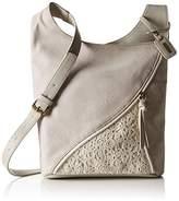 Rieker H1428, Women's Cross-Body Bag, Grau (Cement/Ice), One Size