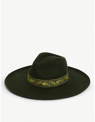 LACK OF COLOR Melodic wool fedora hat