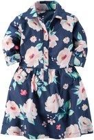 Carter's Floral Dress (Toddler/Kid) - Print - 3T