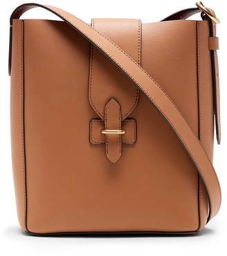 Banana Republic Leather Bucket Bag