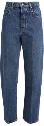 Alexander Wang High-Rise Slim Jeans