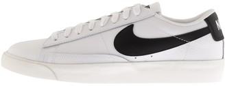 Nike Blazer Low Leather Trainers White