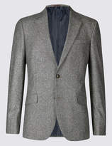 M&S CollectionMarks and Spencer Big & Tall Textured Regular Fit Jacket