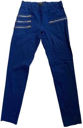 Joseph Blue Cotton - elasthane Jeans