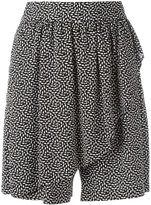 Steffen Schraut geometric print shorts - women - Viscose - 34