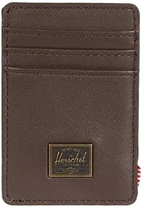 Herschel Raven Leather RFID (Brown) Wallet
