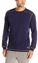 Puma Men's Long-Sleeve Crew-Neck Shirt