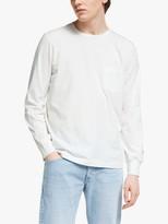 Albam Utility Long Sleeve UT101 T-Shirt, White