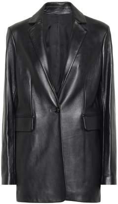 Joseph Lorenzo leather blazer
