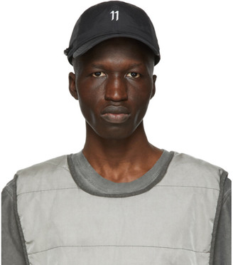 11 By Boris Bidjan Saberi Black and Grey New Era Edition 9Twenty Cap