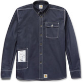Vetements Carhartt Oversized Cotton-Blend Twill Overshirt