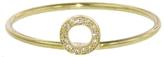 "Jennifer Meyer Diamond ""O"" Stacking Ring - Yellow Gold"