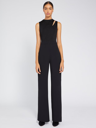Alice + Olivia Ivy Fitted Cut Out Jumpsuit