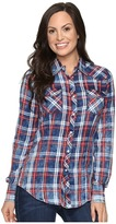 Rock and Roll Cowgirl Long Sleeve Snap B4S8351