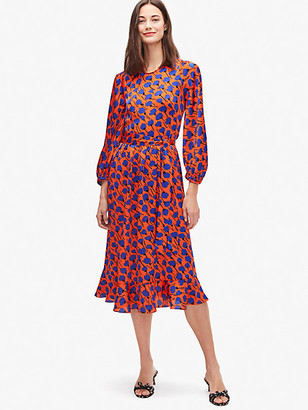 Kate Spade Poetic Floral Smocked Dress