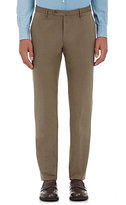 Incotex Men's M-Body Modern-Fit Cotton Trousers