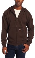 Dickies Men's Big-Tall Midweight Fleece Full Zip Hooded Sweatshirt
