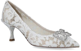 Dolce & Gabbana Lace Bellucci Pumps 60