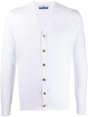 Fedeli Button Cardigan