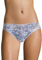 Hanky Panky Violet Spray Original-Rise Lace Thong