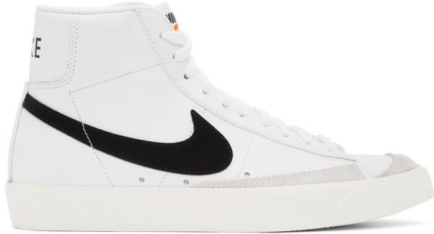 Nike White Blazer Mid 77 Vintage Sneakers