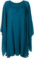 Plein Sud Jeans V-neck dress - women - Silk - 36