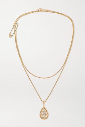 Boucheron Serpent Boheme 18-karat Gold Diamond Necklace - one size