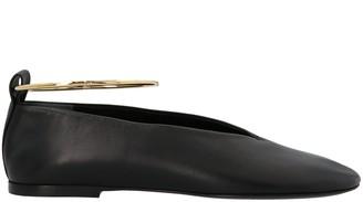 Jil Sander Ankle Cuff Ballet Flats