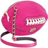 Betsey Johnson Football Crossbody