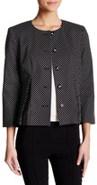 Nine West Polka Dot Blazer