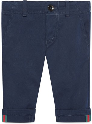 Gucci Kids gabardine trousers